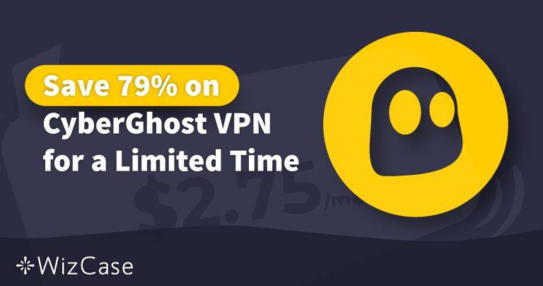 Phiếu giảm giá CyberGhost VPN hợp lệ 2020: Tiết kiệm đến 79% ngay hôm nay